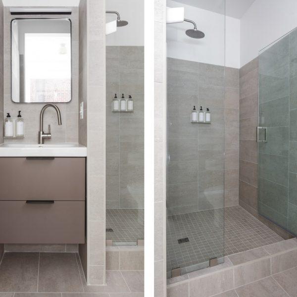 203 bathroom diptych