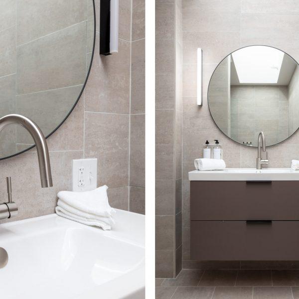 bathroom detail diptych