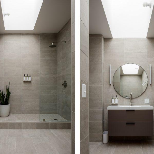 bathroom wide diptych